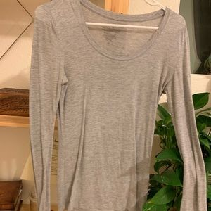 Tops - grey long sleeve
